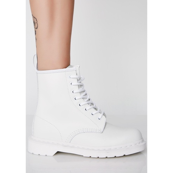 Dr. Martens Shoes | All White Doc